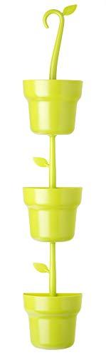 VIGAR Green Colgador de macetas Modular, Verde, 13 x 8,5 x 70 cm
