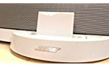 Bluetooth Wireless Receiver Adapter for Bose Sounddock Series 1 Speaker White