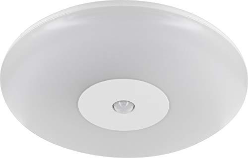 LED Slim plafondlamp 15W IP44 met bewegingsmelder 360° - geschikt voor badkamer vochtige ruimte - dagswit (4000 K)