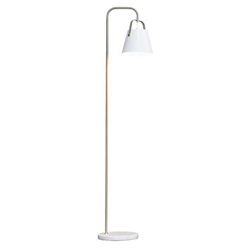 Lámpara de pie LED Eye Protection Lámpara de pie Nordic Simple Lámpara de pie de hierro forjado Sala de estar Dormitorio Lámpara de estudio Base de mármol Lámpara de pie Lámpara de piso