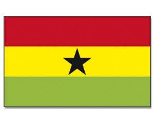 Ghana yantec drapeau 250 x 150 cm