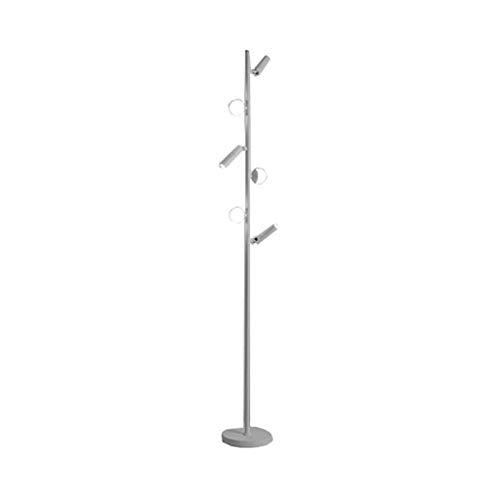 Lámpara de pie de color creativo, LED Modern Minimalist Light Light, Lámpara de Piso Sala De Abrigos, Lámpara De Lámpara De Dormitorio Maestro Iluminación De Lámpara De Lámpara, Iluminación de vacacio