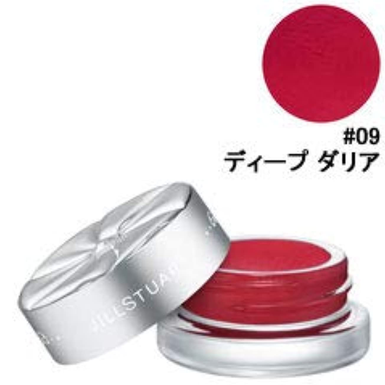 出口確保する誘惑する【ジルスチュアート】チーク&アイブロッサム #09 ディープ ダリア 4g