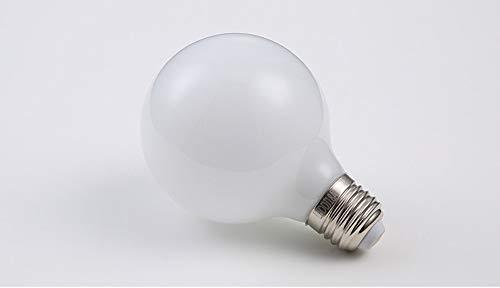 Iluminación De Bombillas Led,Bombilla De Edison Vintage,BombillaLedE27Lámpara Ahorro De Energía Bombilla De Vidrio Transparente Blanco Leche Transparente, 8WBlanco Leche