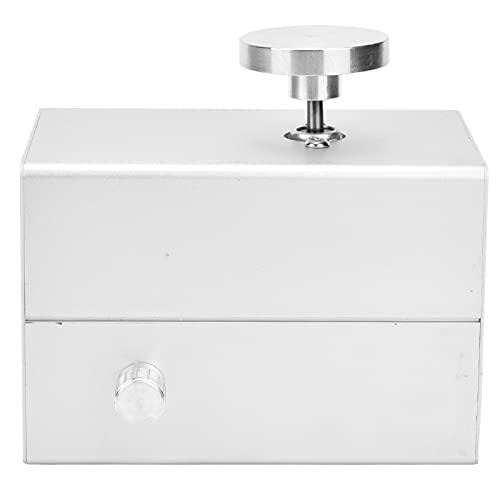 Rueda de cerámica, máquina de cerámica, escritorio sin ruido de 0-2500 RPM para el hogar de la escuela(Estándar europeo 220V45MM plata, rosado)