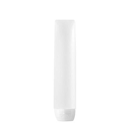 Haucy Botellas de viaje, relleno suave, para crema, loción, champú, acondicionador, productos para el cuidado del cabello, 30/50 ml, Blanco (Blanco) - VYMAVIKD20