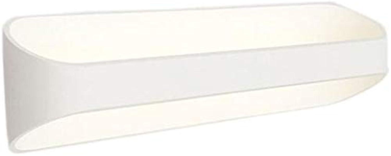 LED Wandleuchten Up und Down Indoor Wandleuchte Uplighter Downlight Gips Pflaster Wandlampen mit 10W 25CM LED-Lampe warmwei
