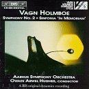 Holmboe: Symphony No. 2/ Sinfonia In Memoriam