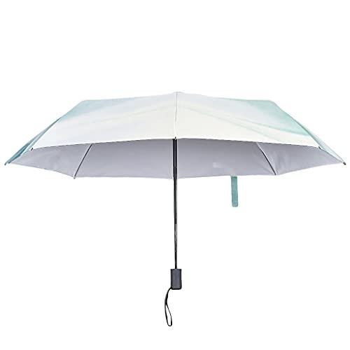 Paraguas plegable automático con textura de mármol, estilo moderno, resistente al viento y al agua, paraguas de viaje