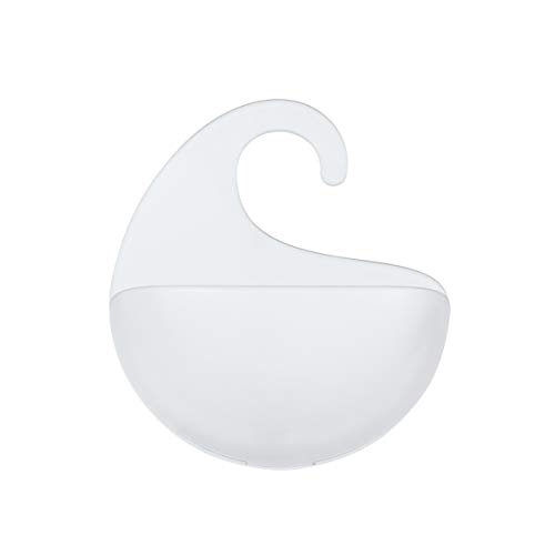 Koziol Surf Rangement à Suspendre, Plastique, Transparent, 5,3 x 15 x 17,6 cm