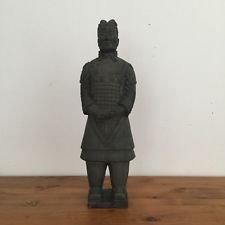 Zen, terracota, guerrero Soldados, sonido Soldados, General 10x 15x 48cm