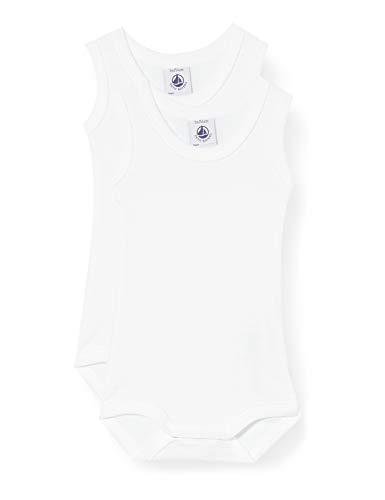 Petit Bateau 5371200 Tuta Intera, Bianco (Variante 1 Zga), 3 anni (Taglia Produttore: 36mesi) Bambino