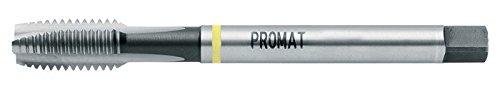 KAYSER GmbH 4000867376 - Promat 867376 Machos máquina M16 HSS-E Din376 anillo amarillo Promat Formulario B
