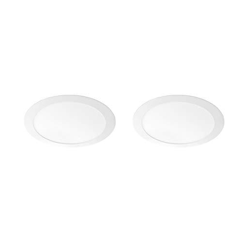 Volton - Pack 2 Downlights LED 18W 1440Lm 4000K Color Blanco Mate