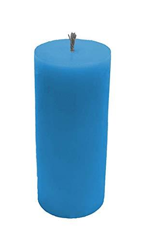 Spiritual World La Vela del Pilar (perfumado Redondo Grande, Azul)