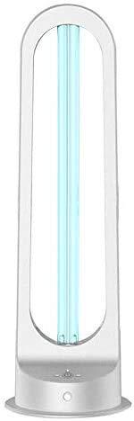 Luchtreiniger voor sterilisatie van de UVC lamp, antibacterieel rate 99,9% ozon, draagbaar, UVC sanitizer, ontsmetting, kiemdodend UV-licht van de lamp (55 W met afstandsbediening) 3 AC