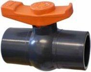 Aqua Forte Kugelhahn Econo-Line ohne Überwurfmutter 32mm