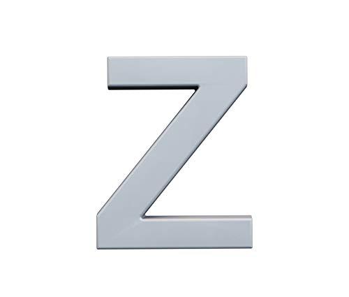 Z – Letras grandes 20 cm, decorativas, blancas pintables, todo el alfabeto y símbolos, para iniciales, Hashtag, boda, amor, para pegar en la pared o en el estante