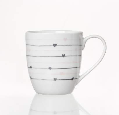 Ritzenhoff & Breker Kaffeebecher Heartbeat von Zauberwerk