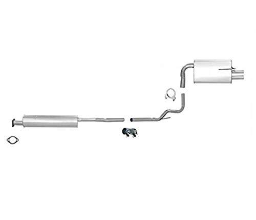 Exhaust Muffler-SoundFX Direct Fit Muffler Walker 18933 fits 02-06 Nissan Altima