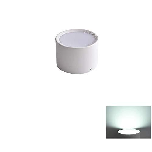 Verlight Moderna ronda 12W / 15W Led de superficie montada Downlights de aluminio Ahorro de energía Lámpara de panel de techo antiniebla Interior Iluminación Centro comercial Casa Villa Foco decorativ