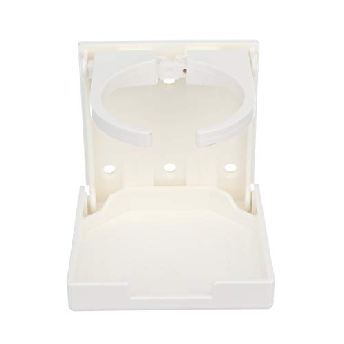 Seachoice 50-79451 Soporte bebidas ajustable y plegable, color blanco
