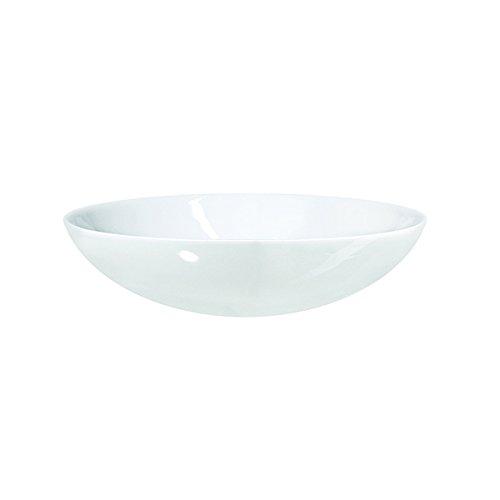 ASA 56024017 Assiette en Porcelaine, 26 x 26 x 4 cm Blanc