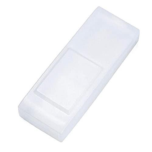 WFIT Cubierta Protectora Cubierta De Control Remoto a Distancia Protector Funda De Silicona a Prueba De Agua para El Aparato De Aire Acondicionado TV 12x4.5cm Transparente