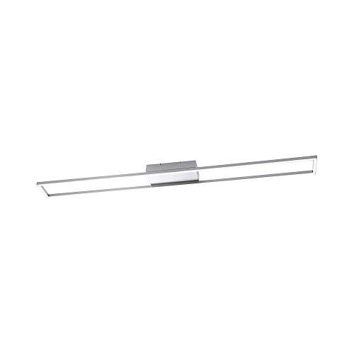 Paul Neuhaus, LED Deckenleuchte, dimmbar über Tronicdimmer, Deckenlampe, modern, Stahl