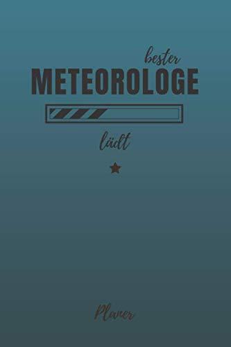 bester Meteorologe lädt Planer: inkl. Kalender 2020/2021 für die Ausbildung o. Weiterbildung | Perfekt für Männer, die sich für Meteorore interessieren | Ausbildungsbeginn Geschenk