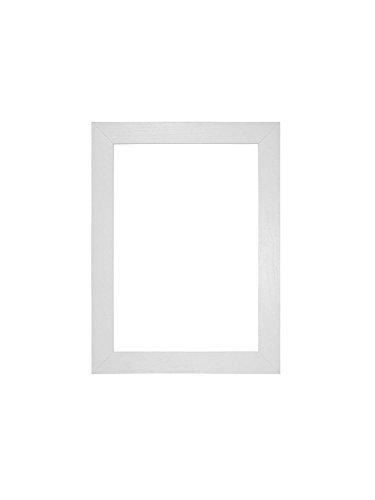 Memory Box MDF-Bilderrahmen/Posterrahmen mit Plexiglas-Platte, 30 mm, weiß, 24