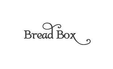 Minglewood Trading Bread Box Label - Vinyl Decal Sticker - 6' x 2' Black