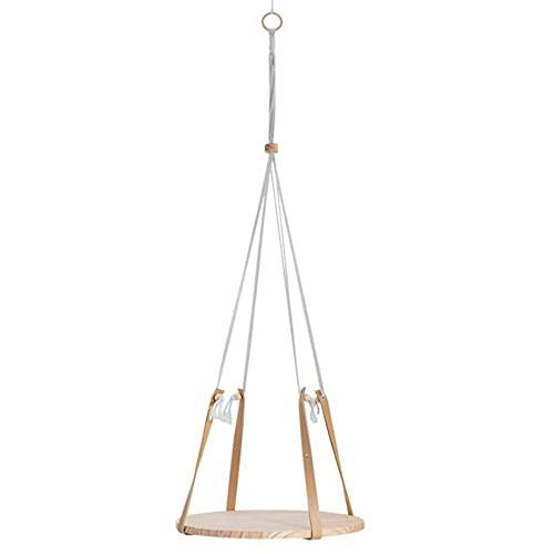 LIANG Hängande Bomull Rope Woven Side Table Balkong Storage Shelf Suspension Bedside Dekoration Bedside Table - 40x200cm