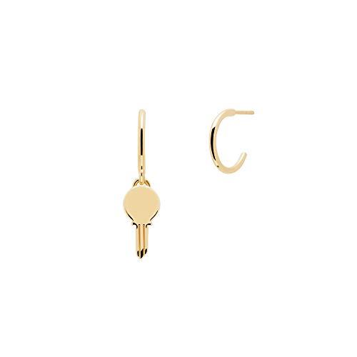 PDPAOLA - Orecchini Eternum - Argento Sterling 925 Placcato in Oro 18 carati - Gioielli per Donna