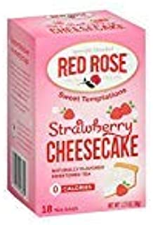 Red Rose Tea Strawberry Shortcake, 18 ct