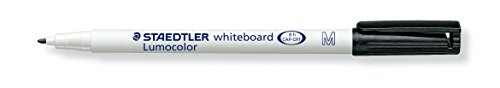Whiteboard Stift Lumocolor schwarz