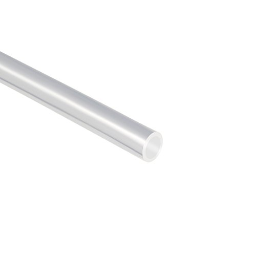 sourcing map PTFE Tubing 2mm ID x 4mm OD x 3.3ft Clear for 1.75mm Filament PLA ABS 3D Printer