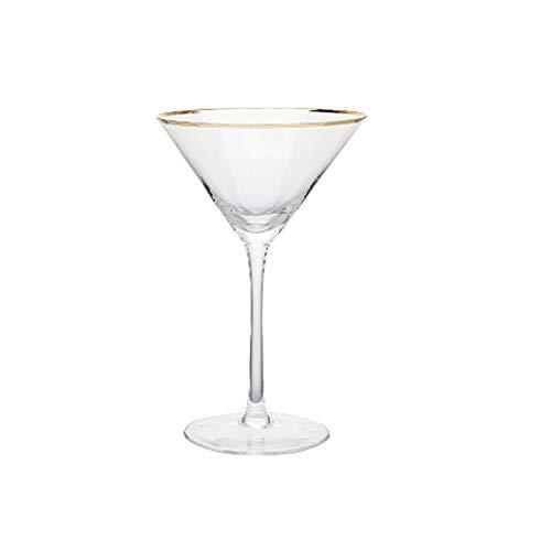Einfachheit 220ml Cocktailglas Rotweinglas Champagner Glas Kristallglas Stemware Glas Haushalt 7,5x18cm MUMUJIN (Color : B)