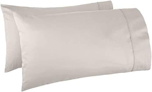 almohada blanca marca Amazon Basics