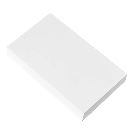 Home Advantage Set of 50 3x5 Index Cards Blank White, Postcards