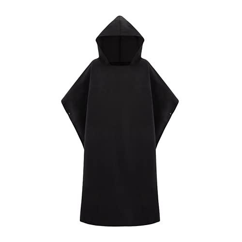 Microfibra Rape Dry Wetsuit Cambio de toalla de Poncho con capucha para nadar, Playa, Ligero, Playa Surf Poncho