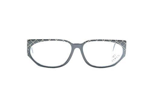 Coel-look, modieus. 0168/002 56 []14 135 zwart ovale bril brilmontuur nieuw