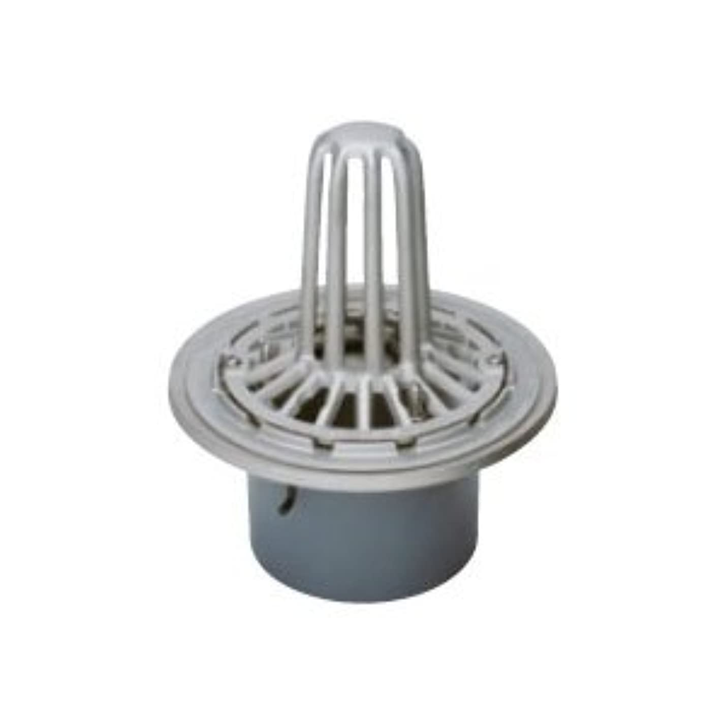 名前を作る未満サワーカネソウ ステンレス鋳鋼製ルーフドレイン たて引き用 打込型 屋上用(呼称50) ESSP-1-50
