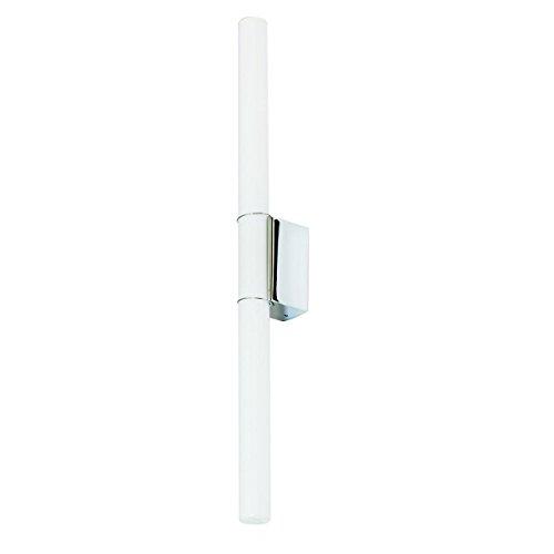 Linestra 7b Wandleuchte, chrom glänzend BxHxT 8,5x4,7x3,7cm exkl. Leuchtmittel