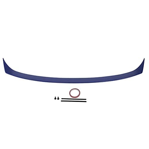 Akozon, alerón trasero para maletero de coche, alerón trasero para modificación de estilo V, reemplazo para sedán 2018-2020, alerón trasero(Azul noche nacarado)