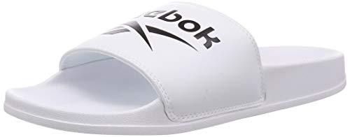 Reebok Classic Slide, Zapatillas Deportivas Unisex Adulto, White Black White, 47 EU
