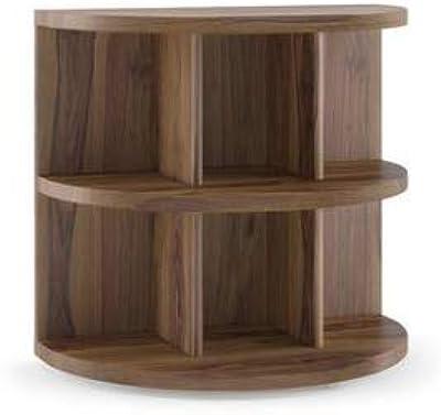 Furny Zoey Teak Wood Bedside Table in Teak Polish