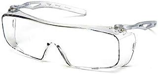 عینک ایمنی Tru-guard S9910st-tv Over-the-عینک ، لنزهای ضد مه شفاف