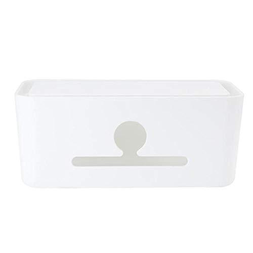 Telefoonnetwerk kabelbox, met thuis desktop sorteerlijn box, huishoudelijke opslag plug opbergdoos box container