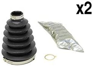 Saab 9-3 900 TURBO axle C.V. joint Boot Kit Outer L+R (x2)